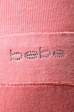 Брюки Bebe                                                                                                              розовый цвет