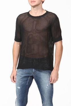Пуловер Вязаный Dolce & Gabbana                                                                                                              черный цвет