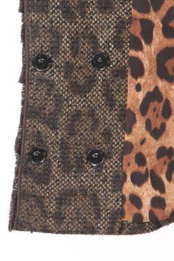 Жакет Dolce & Gabbana                                                                                                              коричневый цвет