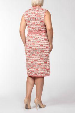Платье Вязаное 2 Предмета Oscar de la Renta                                                                                                              красный цвет