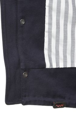 Куртка Капюшон Mauro Grifoni                                                                                                              синий цвет