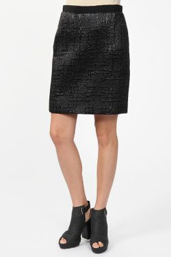 Юбка Balenciaga                                                                                                              чёрный цвет
