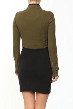 Жакет Burberry                                                                                                              зелёный цвет