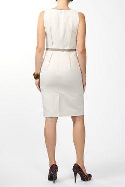 Платье С Поясом Paule Ka                                                                                                              бежевый цвет