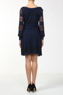 Платье Azzaro                                                                                                              синий цвет