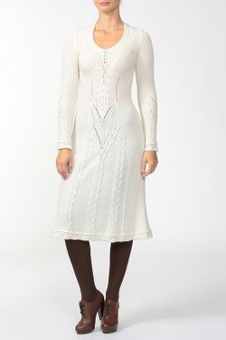 Платье Русский Сезон                                                                                                              белый цвет