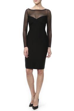 Платье Herve' L. Leroux                                                                                                              черный цвет