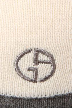 Шапка Giorgio Armani                                                                                                              бежевый цвет