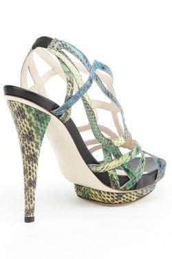 Босоножки Burak Uyan                                                                                                              зелёный цвет