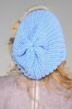 Берет Lak Miss                                                                                                              голубой цвет
