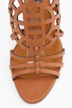 Босоножки Polo Ralph Lauren                                                                                                              коричневый цвет