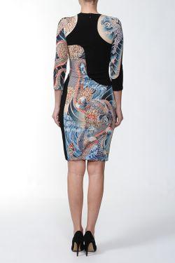 Платье Джерси Alexander McQueen                                                                                                              чёрный цвет