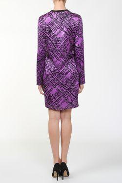 Платье Saint Laurent                                                                                                              многоцветный цвет