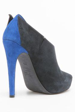 Ботильоны Aperlai                                                                                                              синий цвет