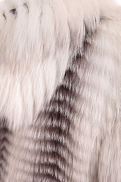 Шуба Carolina                                                                                                              серый цвет