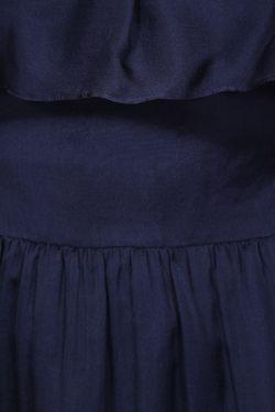 Платье Halston Heritage                                                                                                              синий цвет