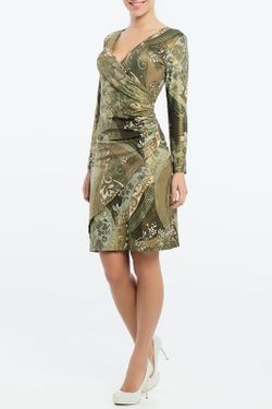 Платье Monamod                                                                                                              зелёный цвет