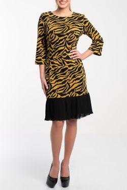 Платье Monamod                                                                                                              желтый цвет