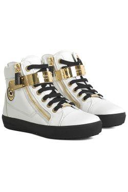 Ботинки Baldinini                                                                                                              белый цвет