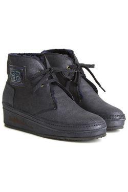 Ботинки Baldinini                                                                                                              синий цвет