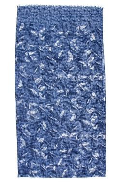 Шарф Moltini                                                                                                              синий цвет