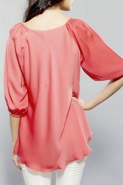 Блуза BGL                                                                                                              красный цвет