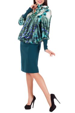 Платье Mannon                                                                                                              зелёный цвет