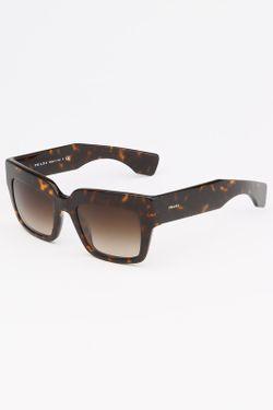 Очки Солнцезащитные Prada                                                                                                              многоцветный цвет