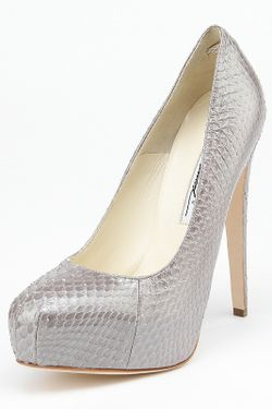 Туфли Brian Atwood                                                                                                              серый цвет