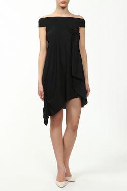 Платье Saint Laurent                                                                                                              чёрный цвет