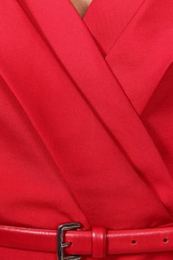 Платье Dior                                                                                                              красный цвет