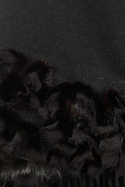 Палантин Brodwey Fur                                                                                                              черный цвет