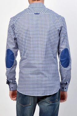 Рубашка Lacoste                                                                                                              синий цвет