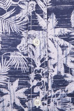 Сорочка HUGO BOSS                                                                                                              синий цвет