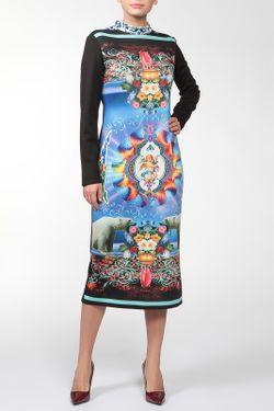 Платье Медведи Adzhedo                                                                                                              синий цвет