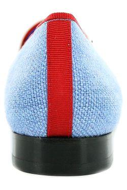 Лоферы SCALPERS                                                                                                              голубой цвет