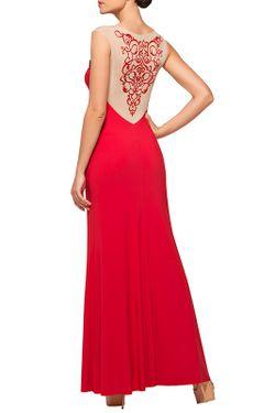 Платье Пляжное Lora Grig                                                                                                              красный цвет