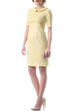 Платье OKS                                                                                                              желтый цвет