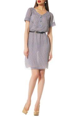 Платье OKS                                                                                                              голубой цвет
