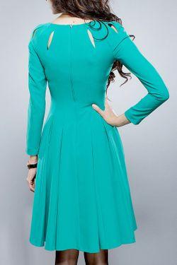 Платье BGL                                                                                                              зелёный цвет