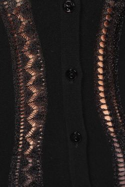 Кардиган Blumarine                                                                                                              чёрный цвет