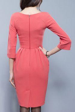 Платье BGL                                                                                                              красный цвет
