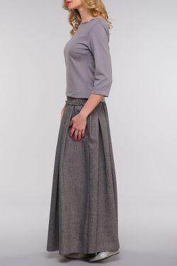 Блузка Kata Binska                                                                                                              серый цвет