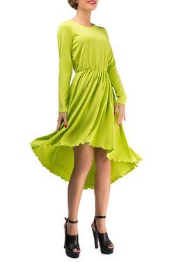 Платье LEBBEL                                                                                                              зелёный цвет