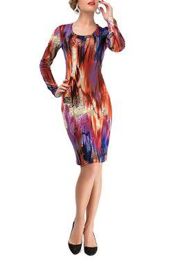 Платье LEBBEL                                                                                                              многоцветный цвет