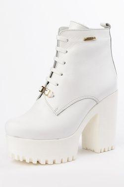 Ботинки Lottini                                                                                                              белый цвет