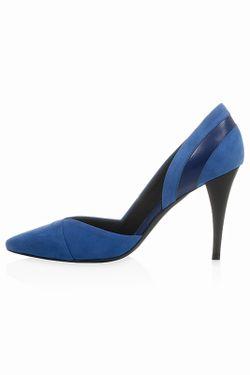Туфли Alexander McQueen                                                                                                              синий цвет