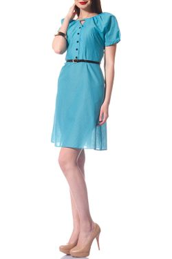 Платье Evercode                                                                                                              голубой цвет