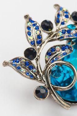 Брошь CHANTAL                                                                                                              синий цвет