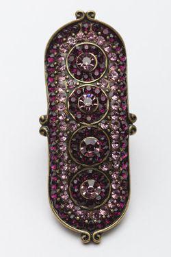 Кольцо Patricia Bruni                                                                                                              фиолетовый цвет